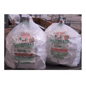 Isobouw afvalzak met sluitclip